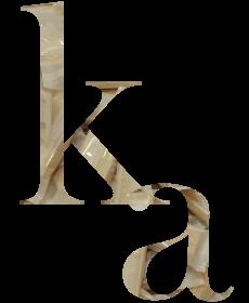 もなかアルファベット「ka」